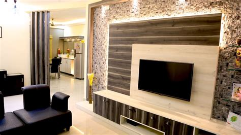 Simple And Beautiful 3 Bhk Flat Interiors Of Mr Karan