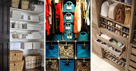 closet organization ideas  designs