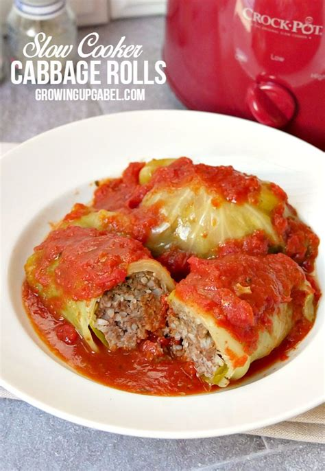 cabbage rolls in oven slow cooker cabbage rolls in tomato sauce