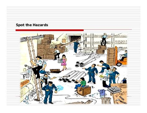 pics for gt spot the hazards in the workplace picture