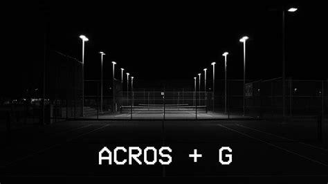 xf acros  film simulation night photography