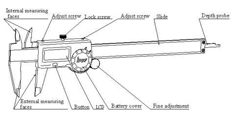 Diagram Of A Digital Caliper by For Ip67 Digital Caliper