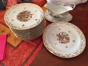 Service De Table Porcelaine : service de table limoges occasion ~ Teatrodelosmanantiales.com Idées de Décoration