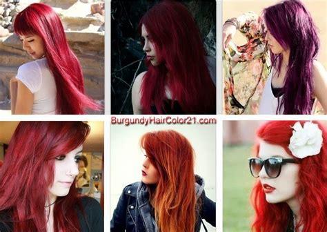 17 Best Ideas About Burgundy Hair Colors On Pinterest