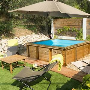 piscine hors sol bois tropic junior proswell With preparation piscine hors sol