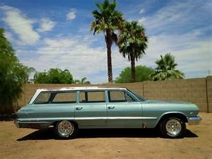 Sell Used 1963 Bel Air Wagon 6 Passenger 283 V8 Barn Find
