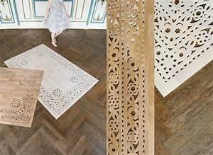 Tapis Vinyl Salon : tapis de bois ou vinyle par arzu firuz lire ~ Teatrodelosmanantiales.com Idées de Décoration