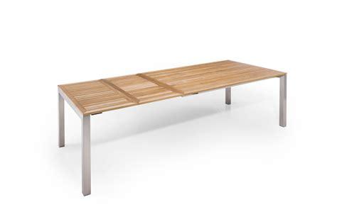 Ausziehbarer Gartentisch Holz by Teakholz Gartentisch Ausziehbar