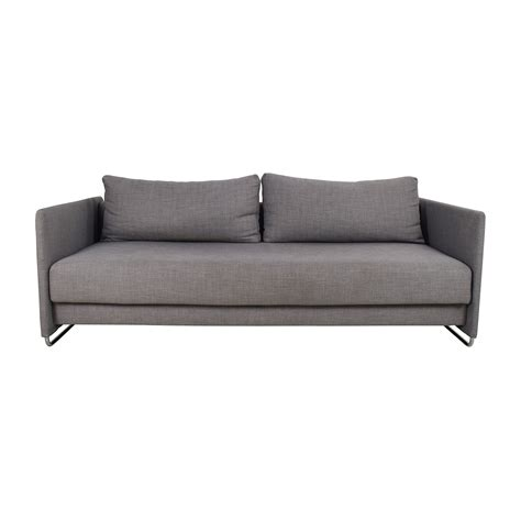 Used Sleeper Sofas by 50 Cb2 Cb2 Tandom Grey Sleeper Sofa Sofas