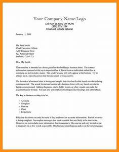business letter essay format examples