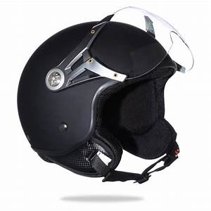 Casque De Moto : casque demi jet noir mat achat vente casque moto scooter casque demi jet noir mat cdiscount ~ Medecine-chirurgie-esthetiques.com Avis de Voitures