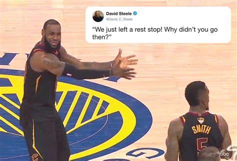 lebron james reaction  jr smith  epic meme