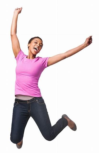 Jump Woman Web Refund Working Financial Deserve