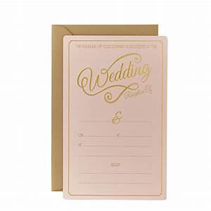 pastel perfection wedding evening invitations pack of 10 With blank evening wedding invitations