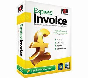 Nch software express invoice deals pc world for Nch software invoice