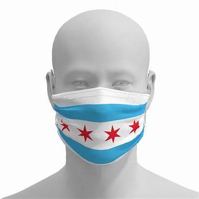 Flag Chicago Masks Mask