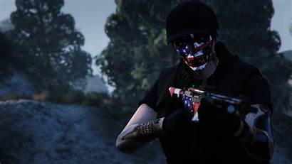 Flag American Face Gta Try Hard Wallpapers