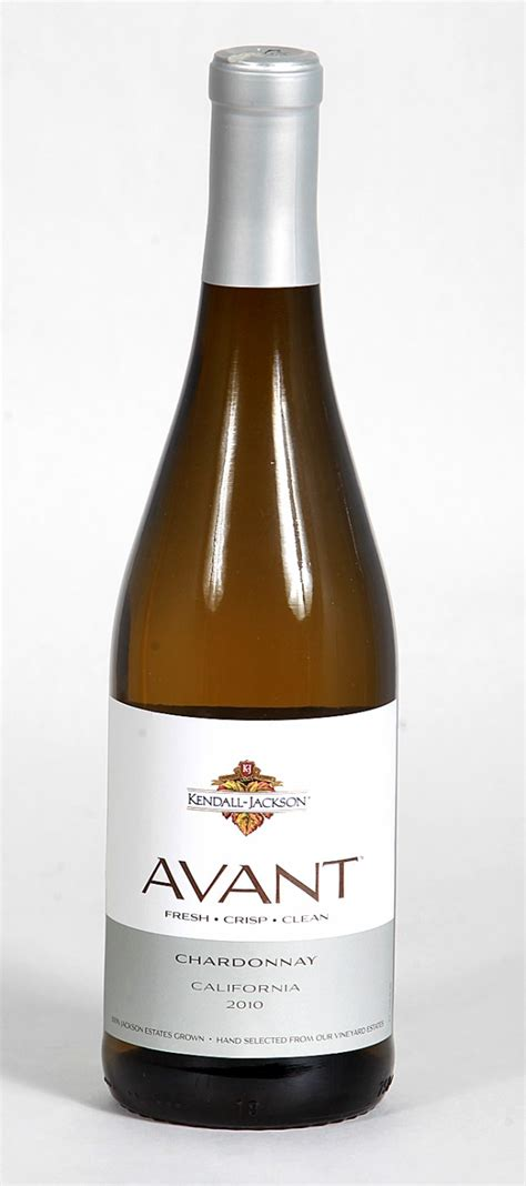Wine of the Week: Kendall-Jackson Avant Chardonnay 2010