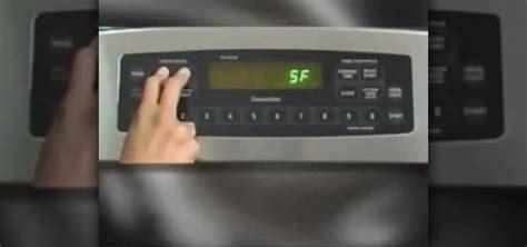 set  ge range  sabbath mode   numbers home appliances wonderhowto
