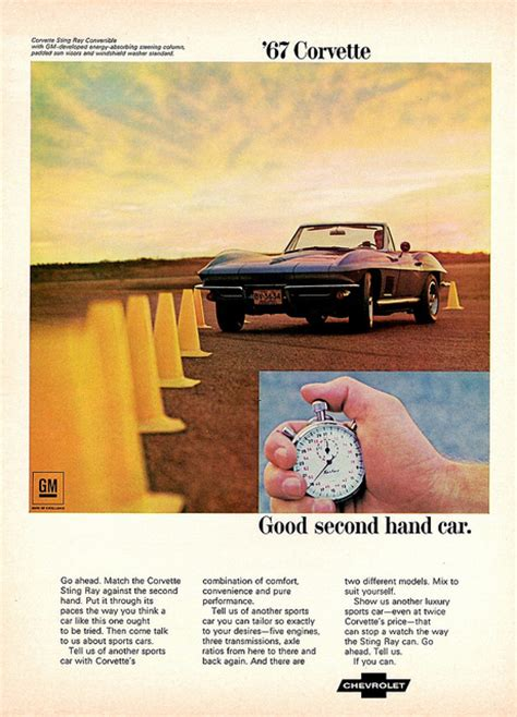 Vintage Corvette Ads from the Late 1960s