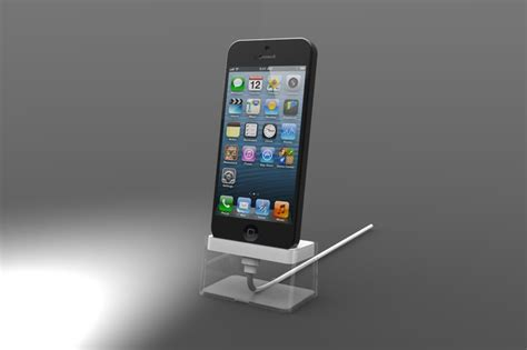 iphone 5 dock iphone 5 charging dock stl 3d cad model grabcad