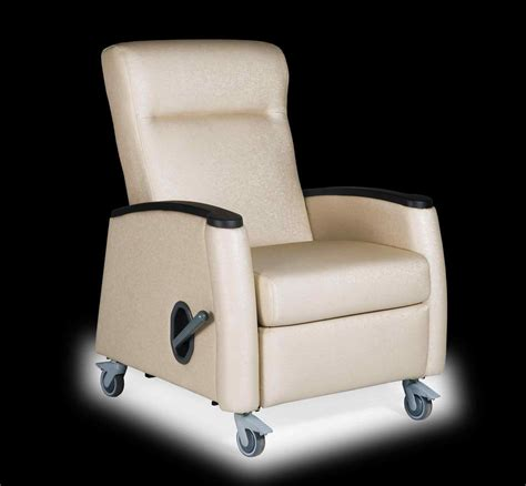 recliner with wheels the images collection of patient on casters with legrest