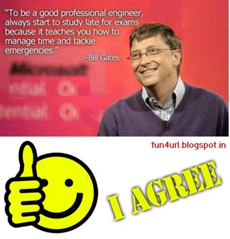 Bill Gates Inspirational Quotes Students