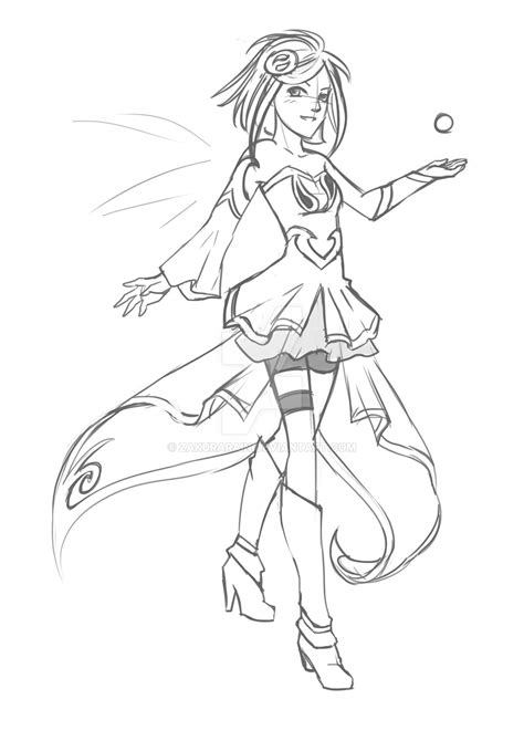 To ease your work you have to put your mind to and try to color each image as it is presented in the right corner of the game. LoliRock Will sketch by ZakuraRain on DeviantArt