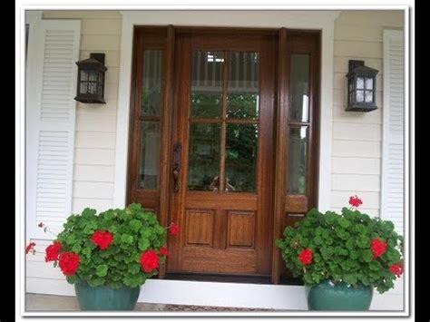 wooden door with glass panel exterior wood doors with glass panels 1958