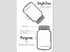 5 Free Printable Bullet Journal Weight Loss Pages The