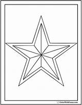 Star Coloring Pages Sheets Printable Double Pdf Colorwithfuzzy sketch template