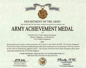 army good conduct medal certificate template best With army good conduct medal certificate template