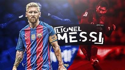 Messi Lionel Wallpapers Desktop Background Football Barcelona