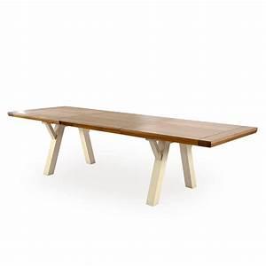 Tréteaux Pour Table : table pieds tr teaux romance meubles rigaud ~ Melissatoandfro.com Idées de Décoration