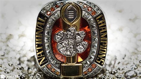clemsons video  creation  championship rings