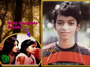 Jayalalitha Childhood Photos: Vijay Daughter Photos