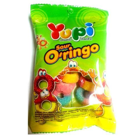 Yupi Gummy Candies Sour yupi gummy sour o ringo co pte ltd