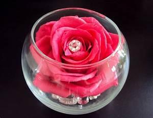cadeau saint valentin rose stabilisee composition florale With affiche chambre bébé avec bouquet de fleurs naturelles