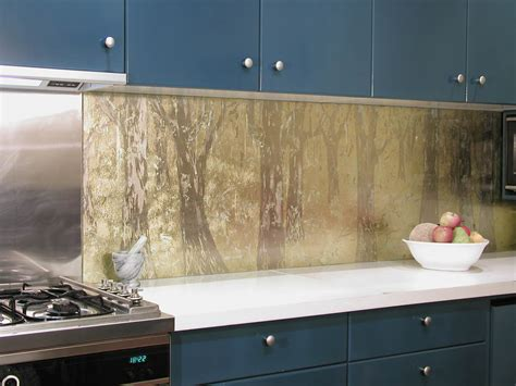 kitchen splashbacks  glass wall panels