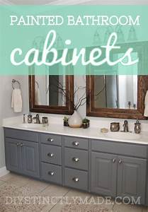 25 best ideas about painting bathroom cabinets on With kitchen colors with white cabinets with bathroom metal wall art