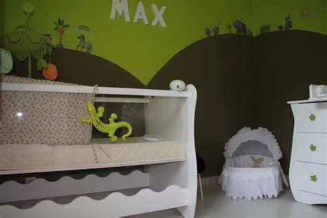 chambre enfant savane deco chambre bebe savane jungle