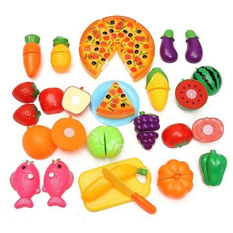 24Pcs Coupe Jouet Cuisine Dinette Fruit Plastique Enfant - Achat / Vente dinette - cuisine ...
