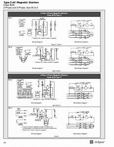 Square D Bination Motor Starter Wiring Diagram
