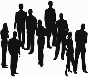Silhouettes of Business People Vector Free vector in ...