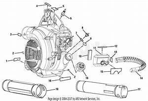 Homelite Ry09466a Blower Parts Diagram For Figure A
