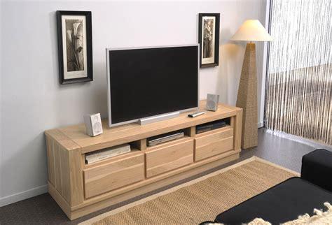 meuble tv chene blanchi meuble tv angle chene clair avec