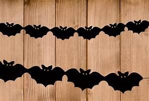 Gruselige Bastelideen Zu Halloween : halloween girlande basteln bastelvorlage und anleitung ~ Lizthompson.info Haus und Dekorationen
