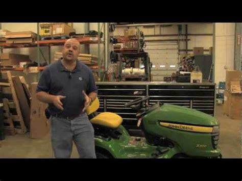 don t ask joe 5 tips on troubleshooting a lawnmower deere x300