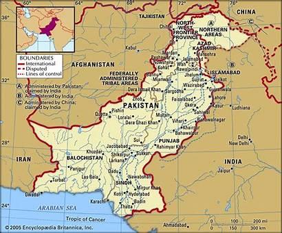 Pakistan Map India River Indus Afghanistan Britannica