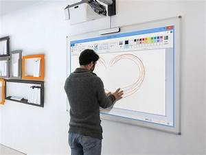 Videoprojecteur Lumens Plein Jour : vid oprojecteur interactif tactile vpi 10 points de contact ~ Melissatoandfro.com Idées de Décoration